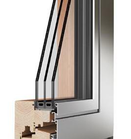 Legno e legno alluminio caneva serramenti e facciate continue - Finestre legno e alluminio ...