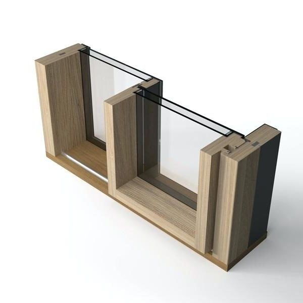 Alzante scorrevole in legno-alluminio Morbegno Sondrio Valtellina Lombardia Italia