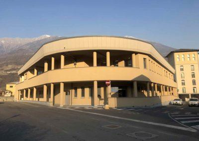 C - Centro Clinico Valtellinese Casa Di Cura Ambrosiana serramenti in alluminio Morbegno Sondrio (2)