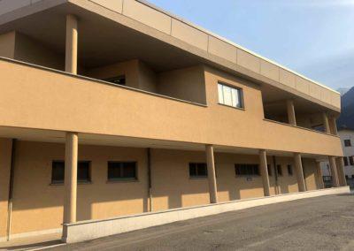 C - Centro Clinico Valtellinese Casa Di Cura Ambrosiana serramenti in alluminio Morbegno Sondrio