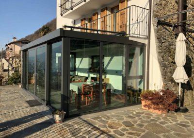 E - Serra bioclimatica morbegno serramenti finestre taglio termico