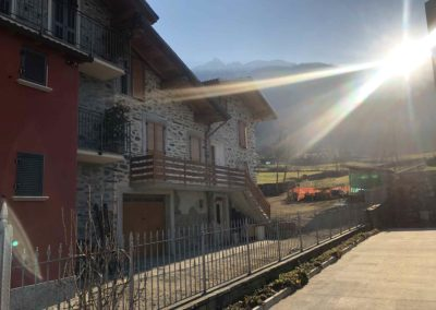 F - Cantiere abitazione residenziale Talamona sostituzione persiane in alluminio